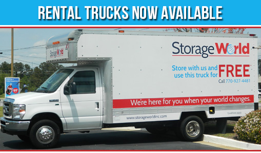 StorageWorld Truck Rental Now Available