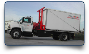 Storage World on Wheels mobile storage trucks