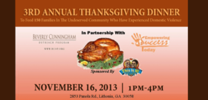 Beverly-Cunningham-Outreach-Program-Thanksgiving-Dinner