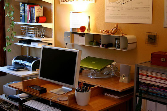 Organized Office easy to do tips for organizing your home office