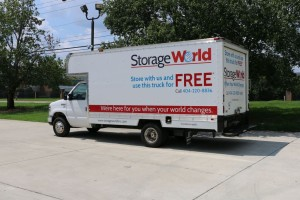Free Atlanta Moving Truck Rental at Storage World