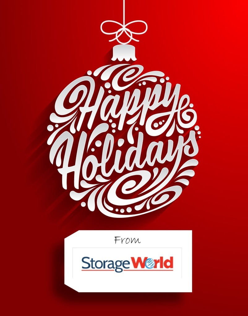 Happy Holidays from Storage World