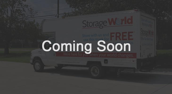 StorageWorld Panthersville Location Coming Soon