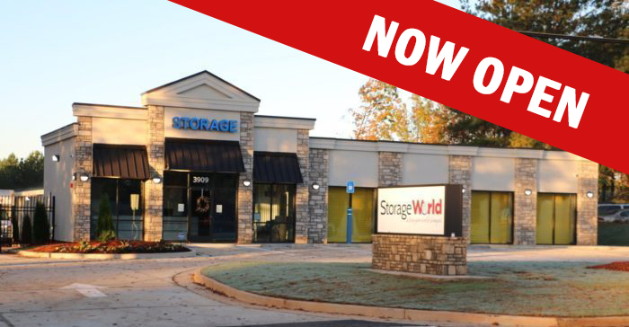 Storage World Flat Shoals Now Open
