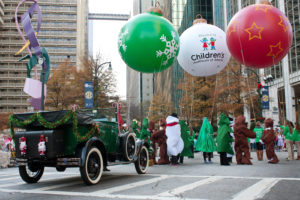 The Children's Christmas Parade in Atlanta, GA