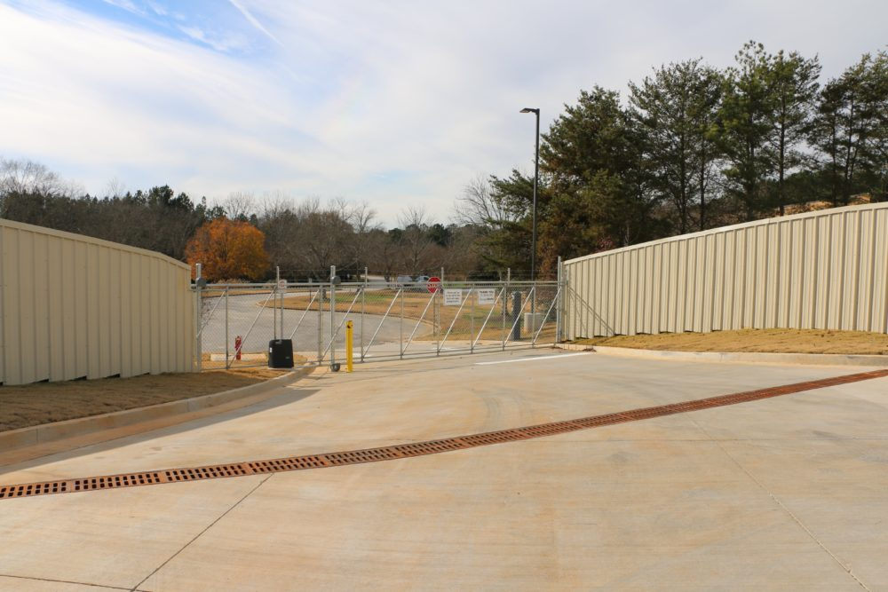 Storage World Flat Shoals Gate Access